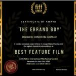 El niño de los mandados premiada como mejor película en el Falcon International Film Festival de Londres