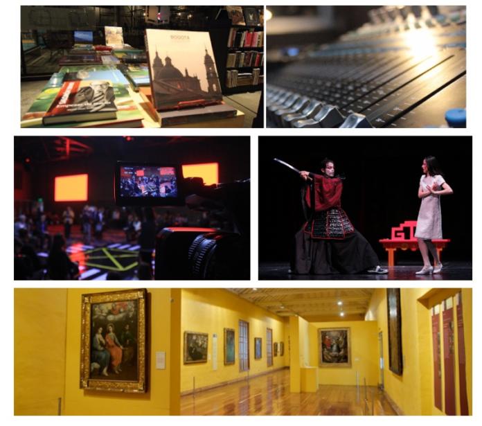 Ya son 27 las actividades del sector creativo y cultural que se han reactivado en Bogotá